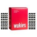 Wukies in the Box gefüllt mit 6 Sets zebra/schwarz - Größe: standard